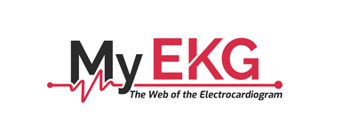 My EKG, Web of the Electrocardiogram Logo